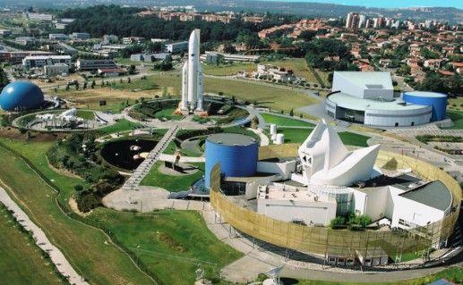 Фото космический город в Тулузе
