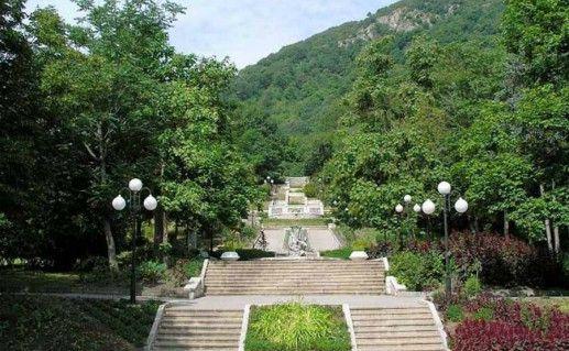 Курортный парк Железноводска фотография