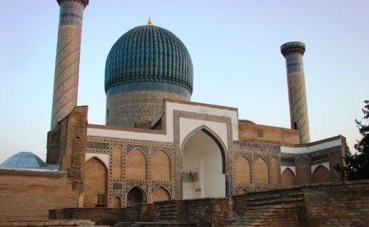 Мавзолей Гур-Эмир в Самарканде фото