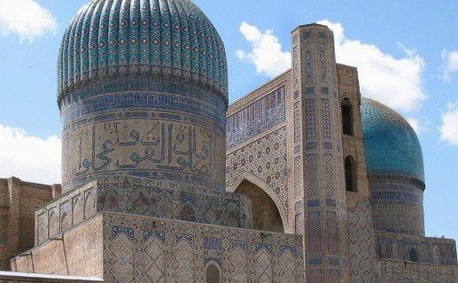 Фотография мечеть Биби Ханум в Самарканде