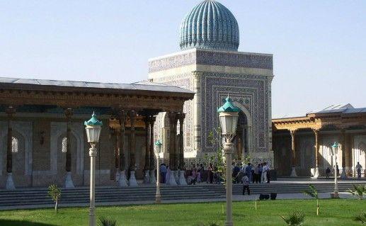 Мемориальный комплекс Имaма Исмаилa Аль-Бухари в Самарканде фото