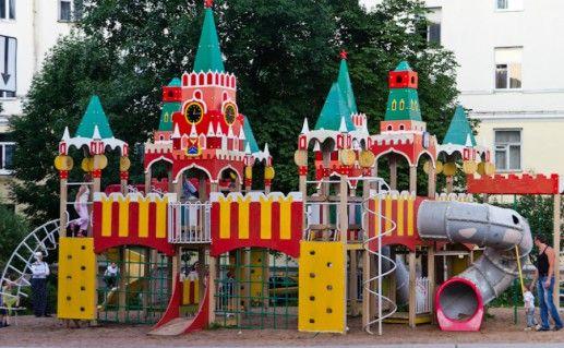 Фото Московский дворик в Могилеве