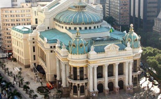 Фото муниципальный театр Рио-де-Жанейро