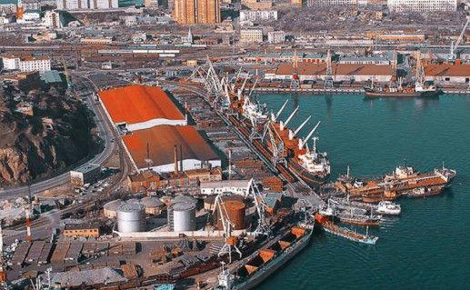 Мурманский морской порт фото