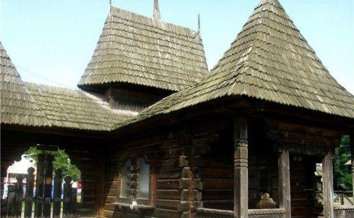 Фото музей народной архитектуры в Черновцах