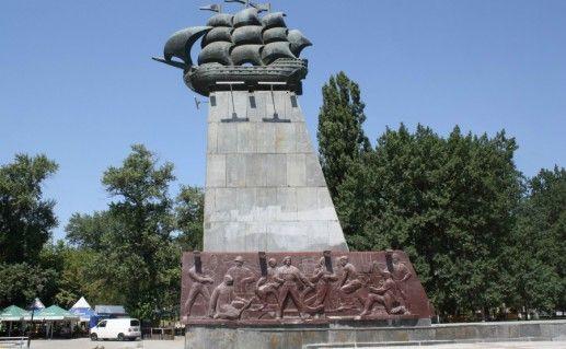 Фото памятник первым корабелам