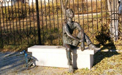 Памятник Студенту в Улан-Удэ фото