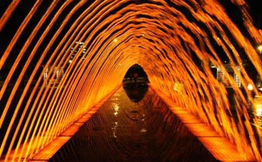Фотография парк фонтанов в Перу