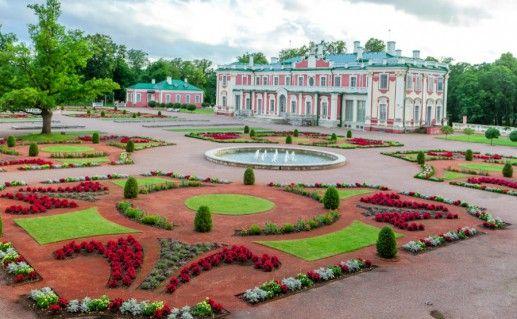 Парк Кадриорг фото