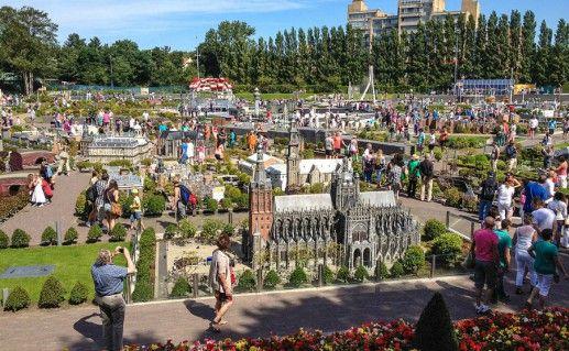Фотография парк миниатюр «Мадуродам» в Гааге