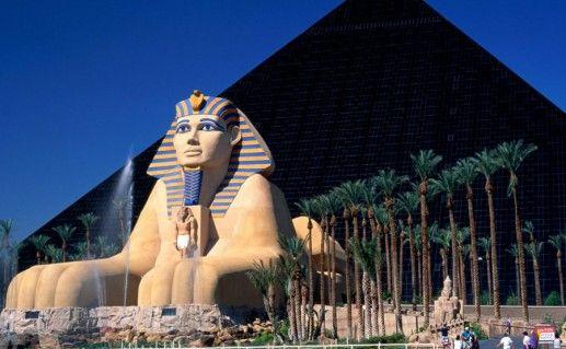 Фото Пирамида «Luxor» в Лас-Вегасе