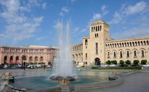 Фото площадь Республики в Ереване