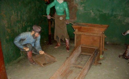Подземный музей золота в Свердловской области фотография
