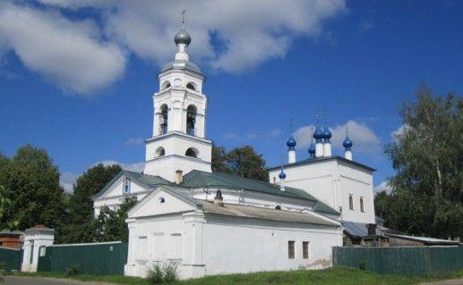Покровская церковь в Шуи фото