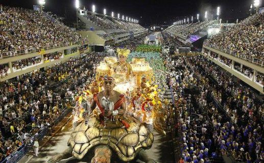 Самбодром в Рио-де-Жанейро фотография