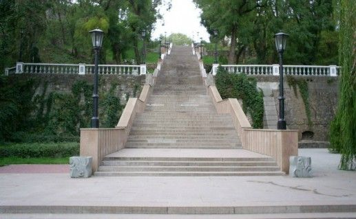 Фото таганрогская каменная лестница