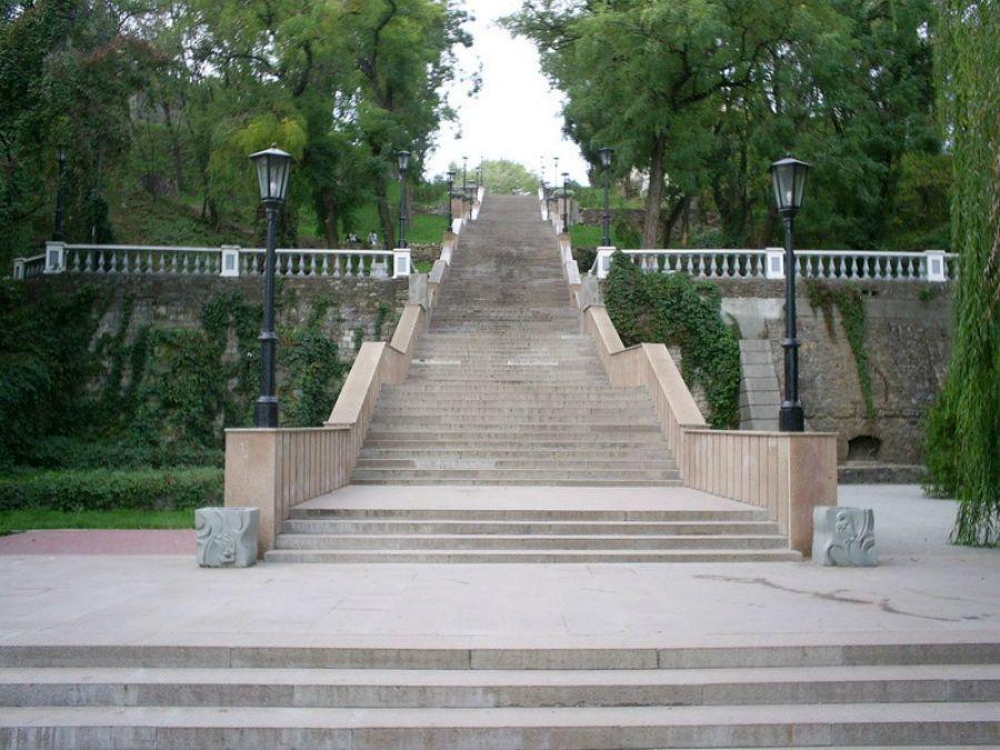 Фото каменная лестница таганрог