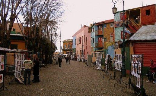 Фото улица Каминито
