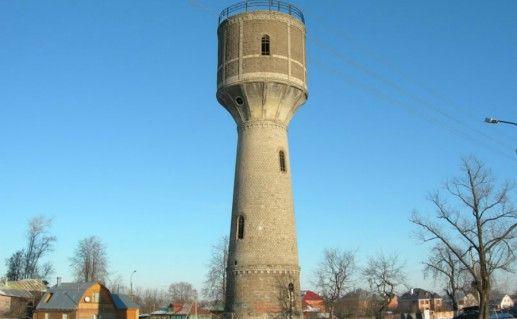Фотография водонапорная башня в Серпухове