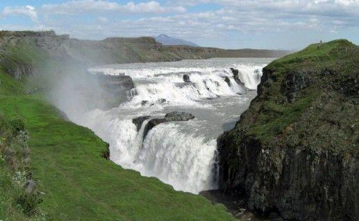 Водопад Гюдльфосс фото