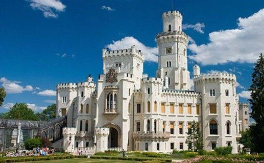 Замок Глубока-над-Влтавой фотография
