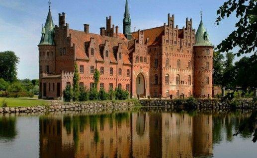 Фотография замок Эгесков в Дании