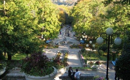 Железноводская Каскадная лестница фото