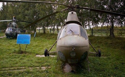 Музей армейской авиации в городе Торжке фотография