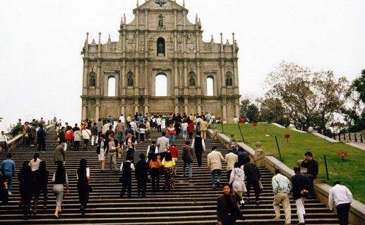 Костёл Святого Павла в Макао фото