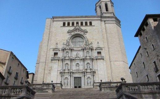 фото кафедрального собора в Жироне