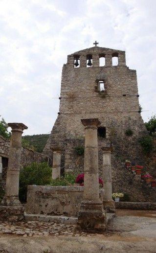 монастырь богоматери Анафонитрии в Закинфе фотография