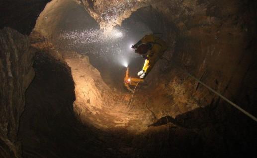 Гагрская пещера Воронья фото