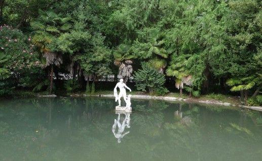 фото Приморского парка в Гаграх