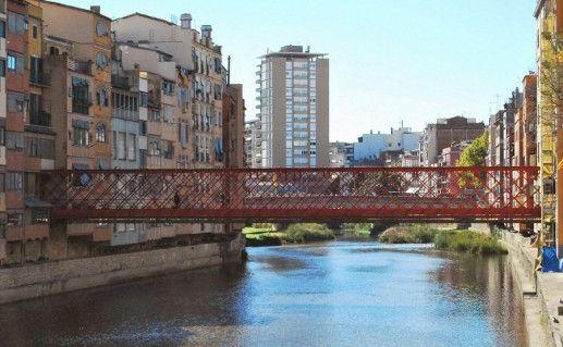 жиронский железный мост фото