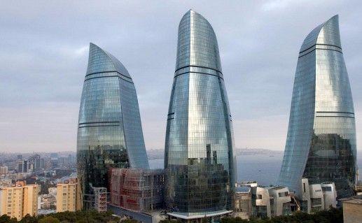 Башни Пламени в Баку фотография