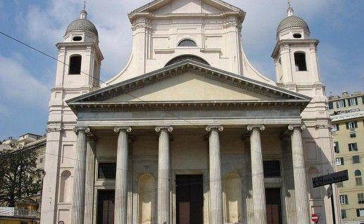 фото базилики Святейшего Благовещения в Генуе