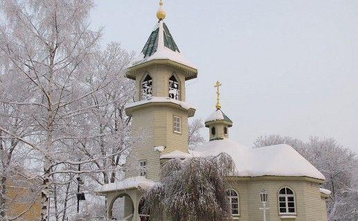 церковь Николая Чудотворца Иматра фото