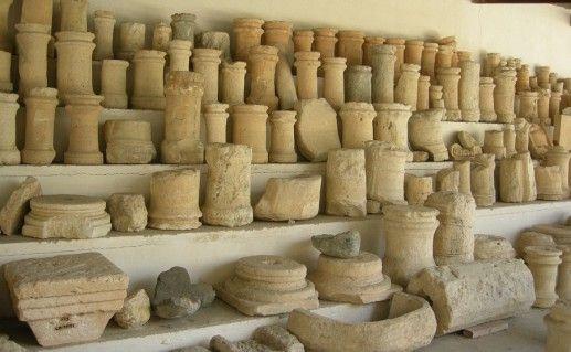 фото экспонатов археологического музея в Лимасоле