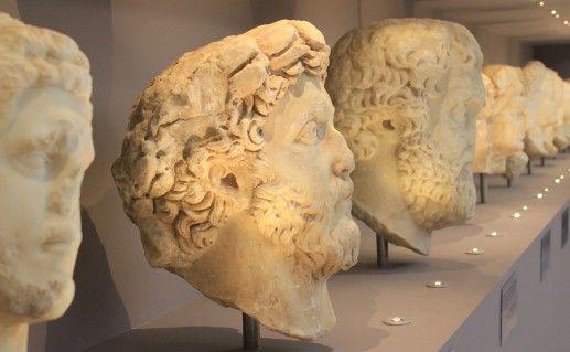 фото экспозиции археологического музея в Ираклионе