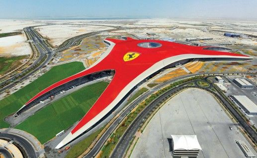 фото парка Ferrari World в Абу-Даби