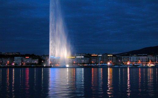фото женевского фонтана