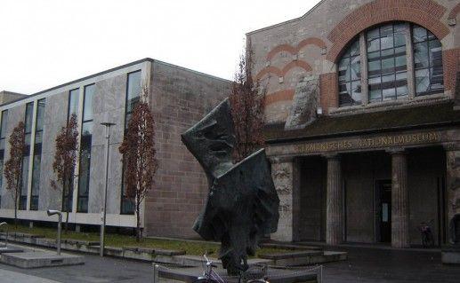 фотография Германского Национального музея в Нюрнберге Бавария