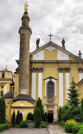 фотография Кафедрального собора Петра и Павла в Каменец-Подольском