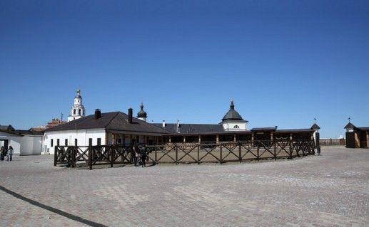 Конный двор вид изнутри Свияжск фото