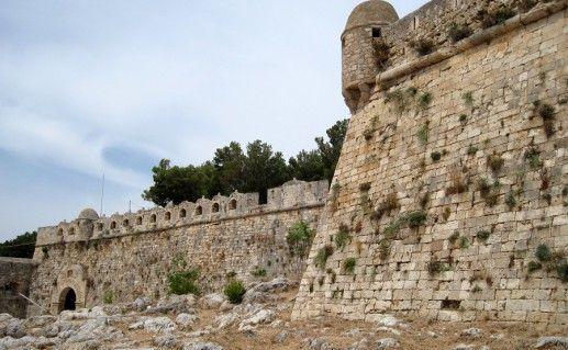 фото крепости Фортецца в Ретимно
