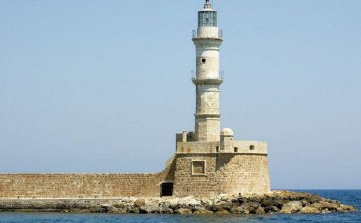 фотография маяка в Ретимно