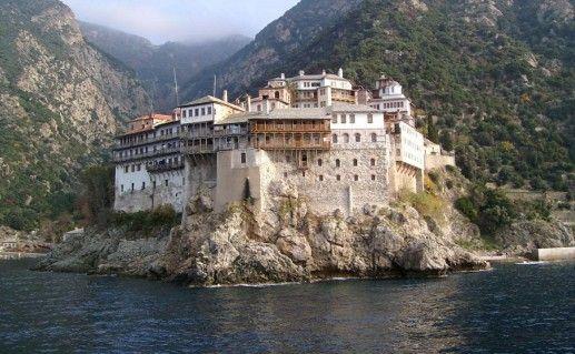 фото монастыря Афона в Халкидики