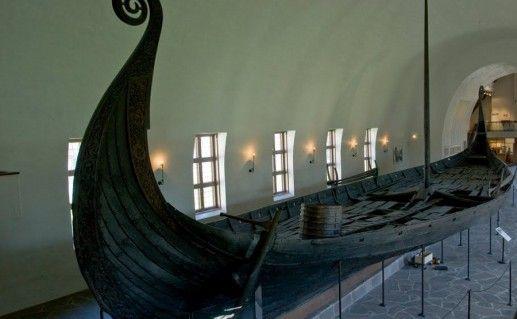 фото музея кораблей викингов в Осло