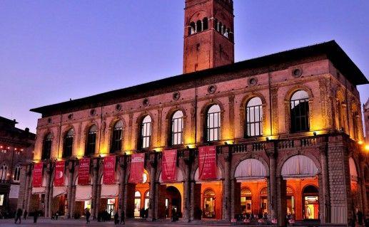фотография палаццо Подеста в Болонье