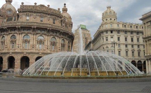 фотография Пьяцца Феррари в Генуе